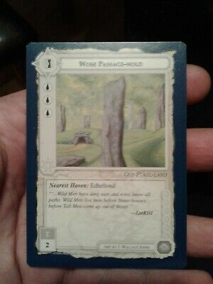 1995 Middle-earth Collectible Card Game - The Wizards Wose Passage-Hold