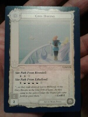 1995 Middle-earth Collectible Card Game - The Wizards Grey Havens