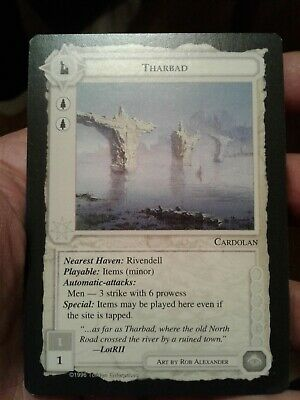 1996 Middle-earth Collectible Card Game - The Dragons Expansion Set Tharbad