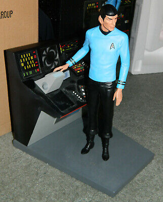 """NEW HOLLYWOOD COLLECTIBLES Star Trek """"Mr. Spock"""" SCULPTURE 1:6 SCALE  600 made"""