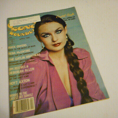 Crystal Gayle Covers Country Song Roundup Magazine April 1980 Reba McEntire