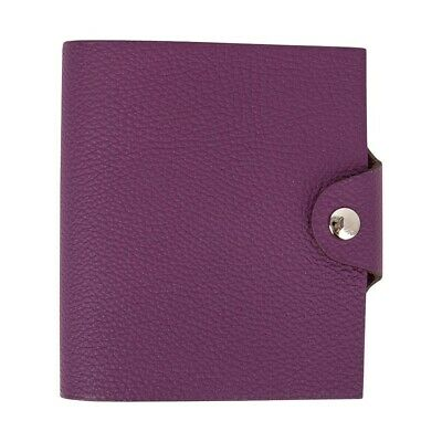 Hermes Ulysse Notebook Cover Anemone Mini Model