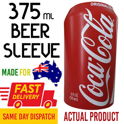 2 PACK Silicon Hide A Beer ® 375ml Reuseable Can Sleeve Silicone Cover Coca Cola