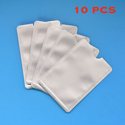 10x RFID Protector Sleeve Blocking Safety Shield Anti Theft for Credit Card