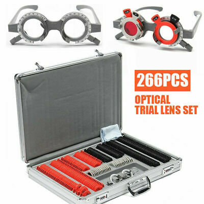 266 Pcs | Optical Trial Lens Set | Aluminium Case | Free Extras