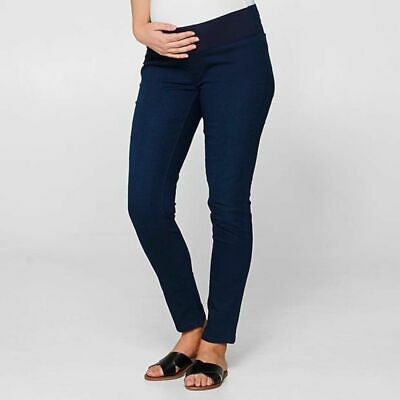 Target size 10 maternity jeggings blue under bump sold out