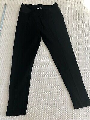 Target size 12 maternity ponte pants leggings work black under bump sold out