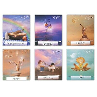 52x Wisdom Of the Oracle Divination Deck By Colette Baron-Reid English Cards