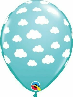 12 Baby Boy Qualatex Party Balloons Blue 11 Inch 27.7 cm New Birth Baby Shower