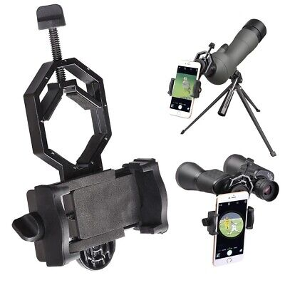 Mobile Phone Camera Adapter Telescope Binocular Holder Spotting Scope Mount US