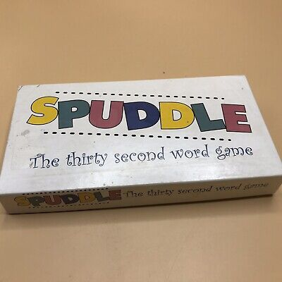 Vintage Rare Spuddle Thirty Second Word Game Complete 1999