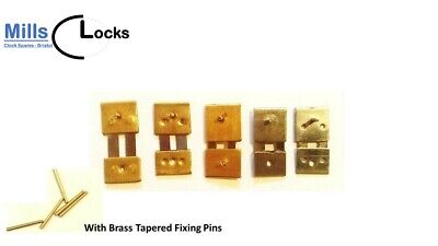 5 Suspension Spring Mix and Brass Pins Wall Mantle Clock Repair, UK Seller (5MP)