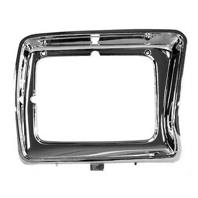 78-79 Ford Pickup Truck F-100/F-150 Headlamp Light Door - Rectangle / Chrome RH