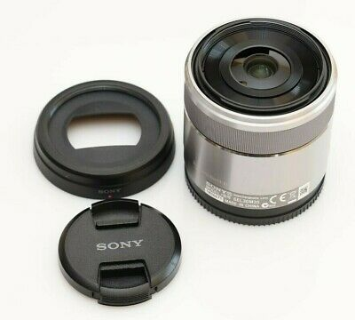 USED Good Sony 30mm f/3.5 Macro E-Mount Lens PLEASE SEE PHOTOS SEL30M35 APS-C