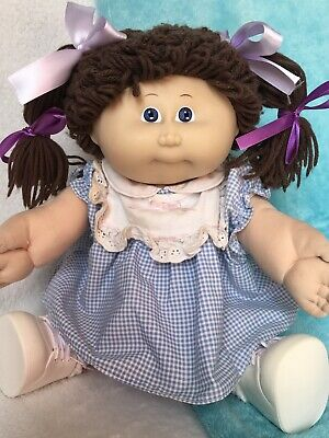 Coleco Vintage Cpk Doll ~ Blue Eyes ~ REDUCED ~ WAS 65.00 ~ NUDE In Her Pampers