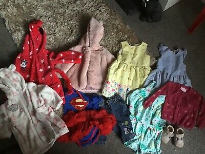 BABY GIRLS CLOTHES BUNDLE AGE 6/ 24 Months  WINTER AND SUMMER