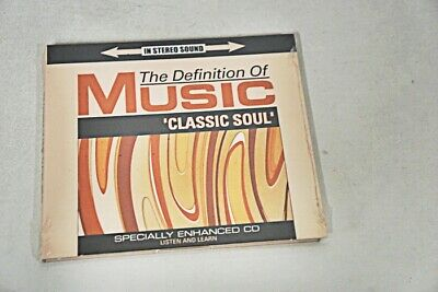 The Definition Of Music Classic Soul Cd