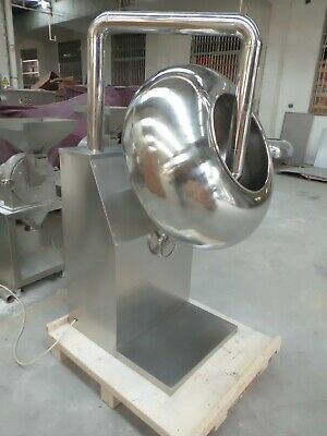 BY 600 Chocolate Coating Machine System including Pan and Sprayer Brand New