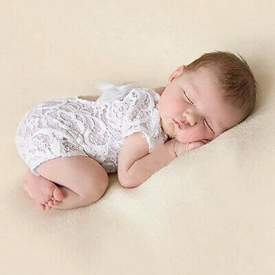 Kids Baby Girl Infant Floral Lace Bodysuit Photograph Photo Prop Romper Seraphic