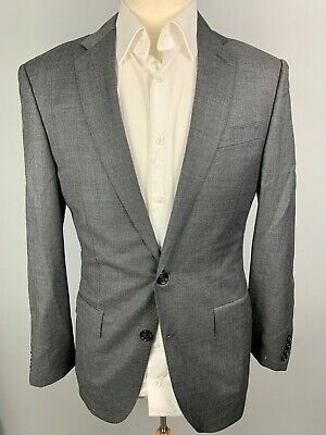 NWT J Crew Crosby Suit Jacket in Italian Worsted Wool sz 36 S Gray