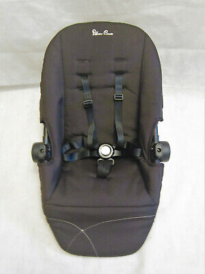 Silver Cross Wayfarer / Pioneer Seat Unit Full Harness - Black
