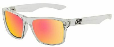 Dirty Dog Mens Vendetta Sunglasses - Grey/Red