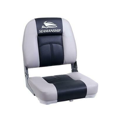 Seamanship 2X Folding Boat Seats Seat Marine Seating Set Swivels All Weather, AU