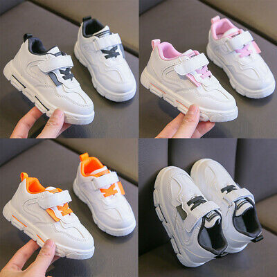 Kids Boys Girls Sports Shoes Child Infant Baby Casual Flat Soft Running Sneakers