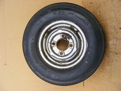 Mini Wheel & Tyre 10 Inch Mini Wheel With Tyre Ideal Trailer Spare Wheel #84