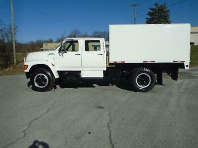 1995 Ford F-650 4Dr Chipper Dump Truck Forestry Arborist