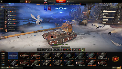 World of Tanks account 54X TOP ACCOUNT 2950WN8 907 260 CHIEFTAIN 3 MARKS 30K GOL