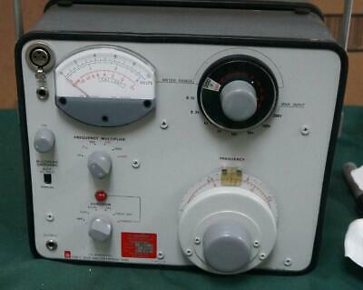 General Radio Genrad 1% Bandwith Type 1568-A Wave Analyzer ! 1T83