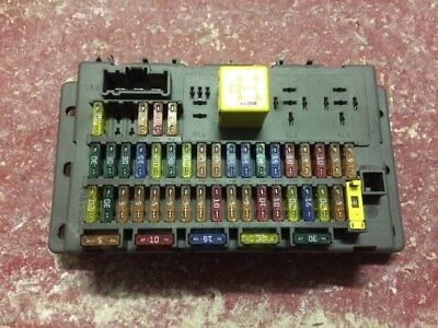 ROVER 75 MG-ZT MG ZT FUSE BOX 518174602 With Fuses And Relays