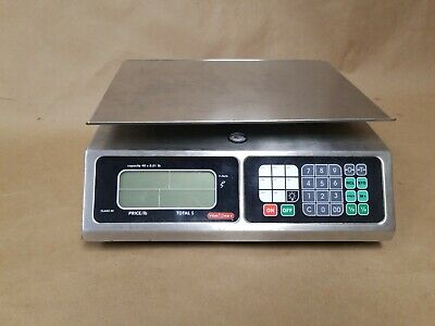 TORREY LPC40L Stainless Electronic Price Computing Scale W/ Rechargeable Battery