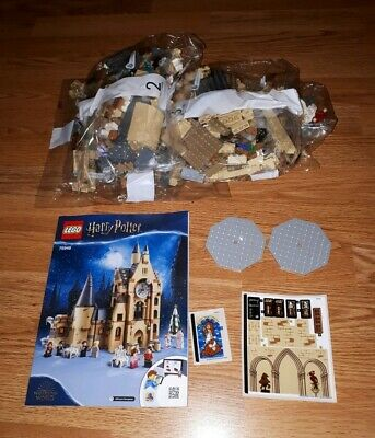 Lego Harry Potter 75948 Hogwarts Clock Tower **No Box Or Minifigures**