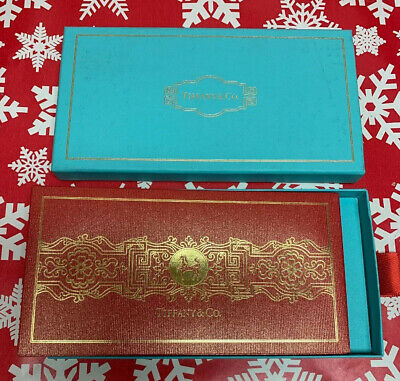 Tiffany & Co. Red & Gold Horse Chinese New Year 8 Money Envelopes. Limited Edit