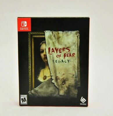 Layers of Fear Legacy Limited Run Nintendo Switch EXTRAS ONLY NO GAME