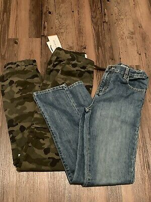 Boys Old Navy NWT Jogger Size 14-16 XL & Childrens Place Size 14 Skinny Jeans