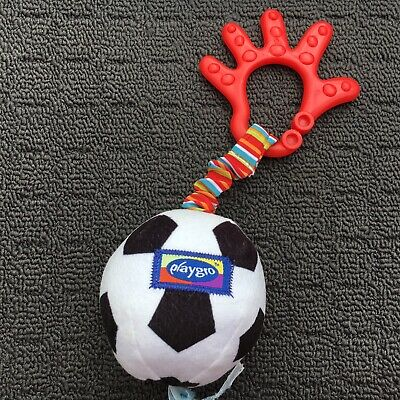 """PLAYGRO """"My First Soccer Ball"""" Cute Sports Ball Clip-on Babies Mini Soft Toy"""