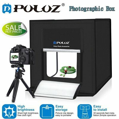 PULUZ Studio Light Portable Photography Box Photo Shooting Tent Foldable Cube ~