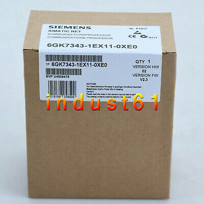 1PC Brand NEW IN BOX SIEMENS 6GK7343-1EX11-0XE0 6GK7 343-1EX11-0XE0