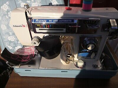Regency De Luxe Automatic Zigzag Embroidery Multipurpose Zigzag Sewing Machine