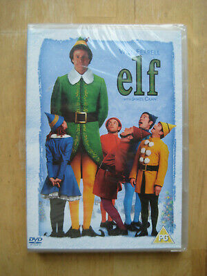 Elf | NEW & SEALED [2016 DVD] Dir. Jon Favreau | Will Ferrell | Region 2 UK