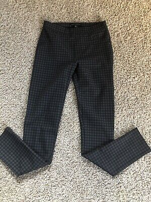Womens Sanctuary Pants Leggings, Nwt, Size Xs, Black, Plaid, Fitted