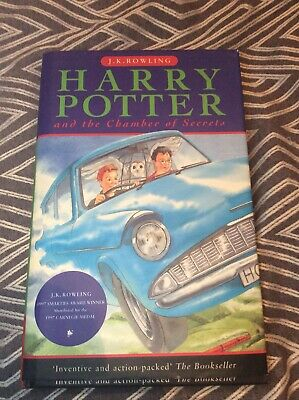 Harry Potter and the Chamber of Secrets Paperback 1998 First Edition 4th Print