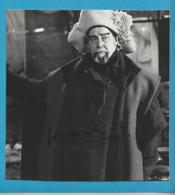 FERNANDO REY in person signed glossy PHOTO 15x15,5 cm AUTOGRAPH 6/6,3 inch