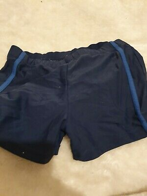 Lovely Boys Urban Rascals Blue Swimming Shorts Age 6-7 Yesrs