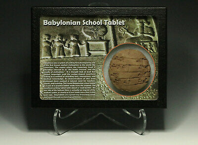 Sumerian Babylonian School Clay Tablet Reproduction