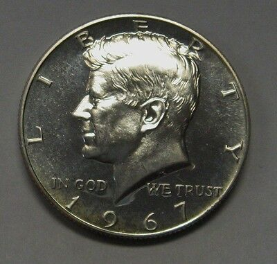 1967 SMS John Kennedy Half Dollar With 2x2 Snap 40/% Silver Combined Shipping