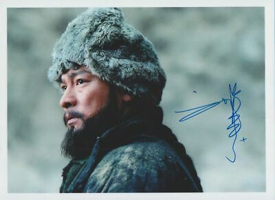 ANDY LAU in person signed glossy PHOTO 20x27 cm AUTOGRAPH 8/11 inch